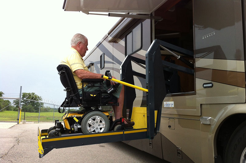 Startracks rv auto lift tow Wheelchair lift motor